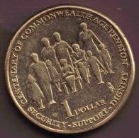 AUSTRALIA 1 DOLLAR  2009 AGE PENSION - Decimal Coinage (1966-...)