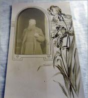 Photo-  Belle Photo NIGER  IBOUZO  MISSIONARIO (NIGER 1907-1911) FERRIEUX JOSEPH  TRES RARE - Persone Identificate
