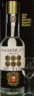 # SAMBUCA BUTON 1960s Advert Pubblicità Publicitè Reklame Food Drink Liquor Liquore Liqueur Licor Alcohol Bebidas - Manifesti