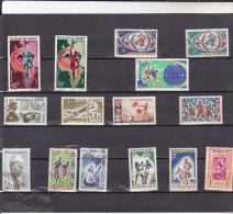 DAHOMEY : Lot De 15 Timbres  :o ;: Y&T : - Bénin – Dahomey (1960-...)
