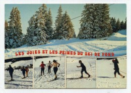 CP , SPORTS D'HIVER , Le Ski De Fond - Sports D'hiver
