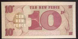 British Military Money (Armed Forces Note) 10 New Pence  UNC - Altri