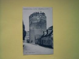 Cpa  VERNEUIL  - 27 - La Tour Grise - Donjon Du XII° S - Eure - Verneuil-sur-Avre