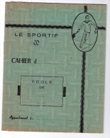 Ancien Protège-cahier « Le Sportif » - Sports