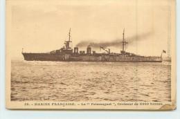 """MARINE FRANÇAISE  - Le """"primauguet"""" Croiseur De 8000 Tonnes. - Guerre"""