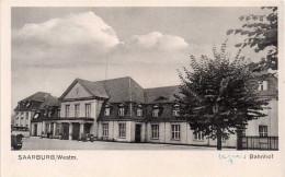 Cpa SAARBURG, Westm. Banhof, La Gare   (32.90) - Saarburg