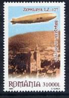 ROMANIA 2004 Flight Of Zeppelin LZ127 MNH/**.  Michel 5849 - Airships