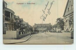 FRANKENTHAL  - Garten, Strasse. - Frankenthal