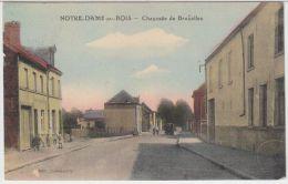 21387g CHAUSSEE De BRUXELLES - Notre-Dame-au-Bois - Colorisée - Overijse
