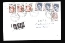 Italia- 2004  St Pos Timbro 2005. Donne € 0,90 X3 + 0,20x3+ 0,10. Raccomandata. Vedi Descrizione - 6. 1946-.. Republik