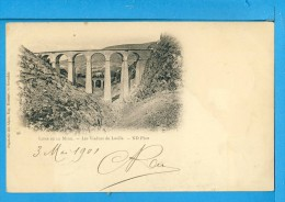 CP, 38, Ligne De LA MURE, Les Viaducs De Loulla, Dos Simple, Voyagé En 1901 - Non Classés