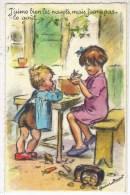 """GERMAINE BOURET: Plan Top Sur Les Enfants""""j'aime Bien Les Navets......."""" - Bouret, Germaine"""