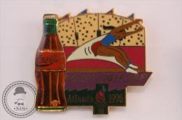 Coca Cola Olympic Sponsor - Atlanta 1996 - Women´s Triple Jump  - Pin Badge  - #PLS - Juegos Olímpicos