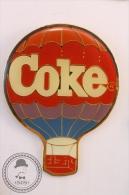 Coca Cola - COKE - Hot Air Balloon - Pin Badge  - #PLS - Coca-Cola