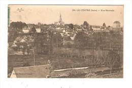 CPA : 36 - La Chatre : Vue Générale : Maisons - église - Vue Peu Commune - La Chatre