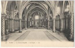 75 - PARIS 1 - La Sainte-Chapelle - La Crypte - LL 108 - Arrondissement: 01