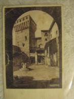 San Felice Sul Panaro - Cortile Del Castello (Modena) Vaigg 1931 Illustratore A.Roncaglia - Modena