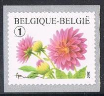 Année 2007 - COB 3684** -  Timbre De Rouleau -  Dalhia - Cote  2,30€ - Coil Stamps