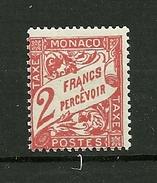 MONACO 1926/1943  TAXE   N°24       NEUF - Taxe
