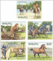 Vanuatu / Horse Racing - Vanuatu (1980-...)
