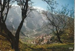 BRANTES  (84)  Le Petit Village Et Le Mont Ventoux - France