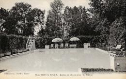 Beaumont-le-Roger - Jardins De Chantereine - La Piscine - Carte Non Circulée - Beaumont-le-Roger