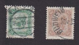 Austria, Scott #101a, 104, Used, Franz Josef Issued 1905 - Usati