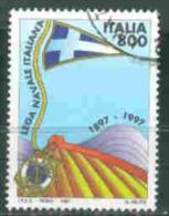 Italia Repubblica Usati -  2291 - 1997 Lega Navale Prima Scelta - 6. 1946-.. Republik