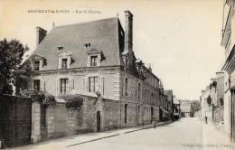 Beaumont-le-Roger - Rue Saint-Nicolas - Carte Non Circulée - Beaumont-le-Roger
