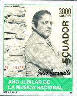 Ref. 309047 * MNH * - ECUADOR. 1996. A?O JUBILAR DE LA MUSICA NACIONAL - Music