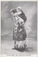 Serbie - Costumes - Types Serbes - Femme Et Son Enfant - Serbia