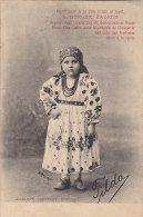 Croatie - Folklore - Young Girl - Zagreb - Croatie
