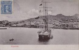 Amérique - Chili - Chile - Coquimbo - Bâteaux Voilier 3 Mâts - Postal Mark - Chili