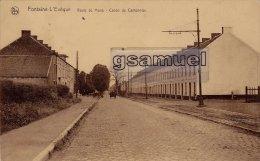 Belgique > Hainaut > Fontaine-l'Evêque : Route De Mons - Coron Du Cantonnier. - (voir Scan). - Fontaine-l'Evêque