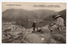 Cpa  63 - La Bourboule - La Vallée De Vendeix Vue Prise Du Sommet Du Rocher De La Bourboule - L'Auvergne Pittoresque - La Bourboule