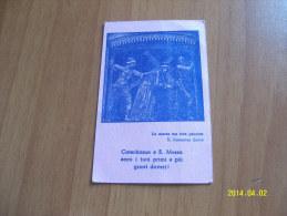 TESSERINA  CATECHISTICA  ANNI 50 - Vecchi Documenti