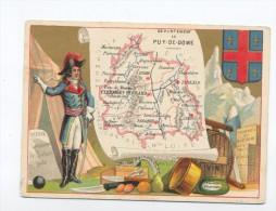 Images, Chromos, Département  De Puy De Dome. - Other