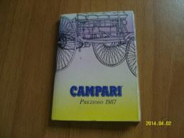 CALENDARIETTO  PREZIOSO  CAMPARI 1987 (6 Foto) - Formato Piccolo : 1981-90