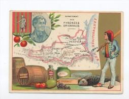 Images, Chromos, Département Des Pyrenées Orientales. - Chromos