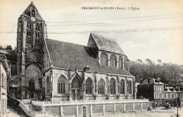 Beaumont-le-Roger - L'Eglise - Carte Non Circulée - Beaumont-le-Roger