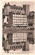 POSTAL    PAU -FRANCIA-   CASTILLO DE ENRIQUE IV  Y EL MANANTIAL - Pau