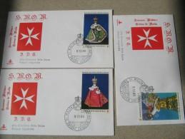 SMOM 1986 NATALE BAMBINO DI PRAGA - FDC - Malta (Orden Von)