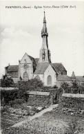 Verneuil - Eglise Notre-Dame - Côté Sud - Carte Non Circulée - Verneuil-sur-Avre