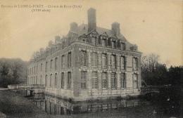 Environs De Lyons-la-Forêt - Château De Rosay - Carte Non Circulée - Lyons-la-Forêt