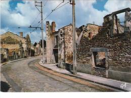 Carte Postale Des Années 70-80 - Oradour Sur Glanes - Cité Martyre Le 10 Juin 1944 - Guerra 1939-45