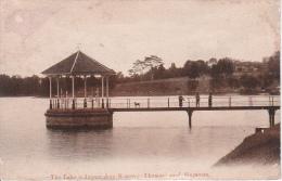 PC Singapore - The Lake Is Impounding Reservoir Thomson Road -  1900s (2517) - Singapur
