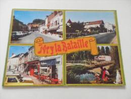 EURE - IVRY LA BATAILLE - Multi Vues CAMPING  Voitures - Ivry-la-Bataille