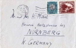 SOUTH AFRICA 1954, 2 Fach Frankierung Auf Briefstück - Briefmarken