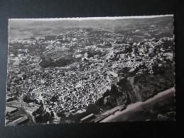 CP MAROC (M1401) TANGER (2 Vues) Vue Aérienne 15 A Panoramique De La Ville Arabe, Les Falaises De La Kasbah - Tanger