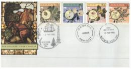(PH 52) Australia SPECIAL FDC Cover - New Holland Captain Cook's Voyage - Primo Giorno D'emissione (FDC)